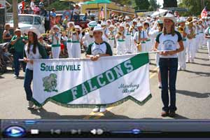 Soulsbyville Falcons Marching Band Click to see video